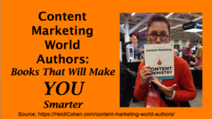 Content Marketing World Authors - Heidi Cohen