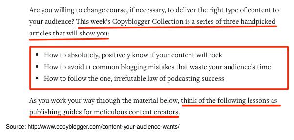 Copyblogger Content Curation - Continued