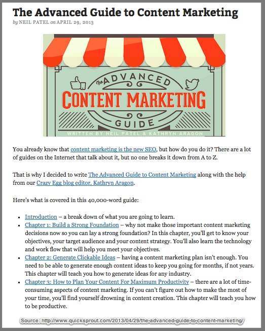 Cornerstone Content-resource example-Blog Content Idea Generation