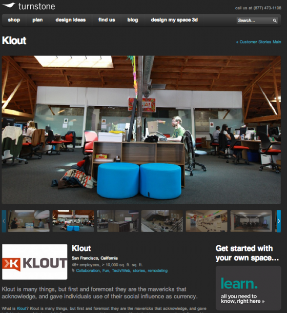 Customer Story- Klout- Turnstone