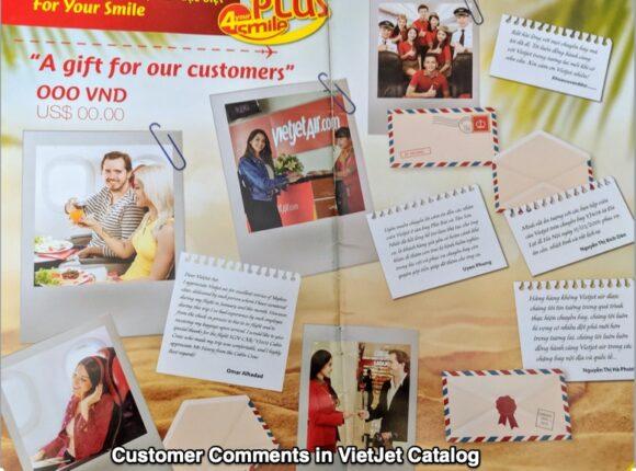 VietJet's Customer comments