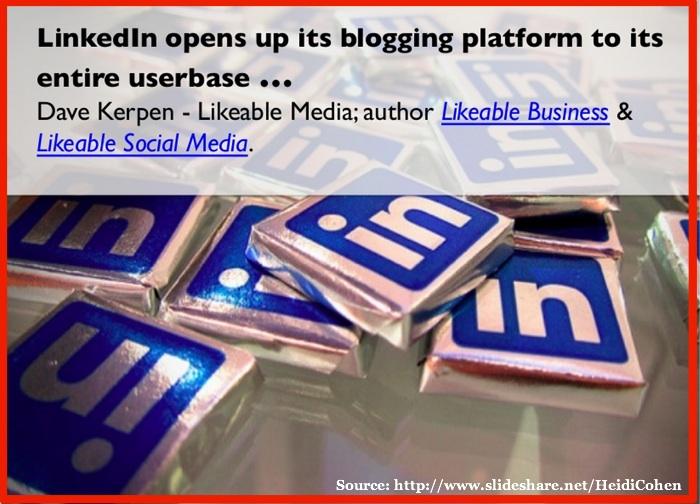 LinkedIn Social Media Platform 2014