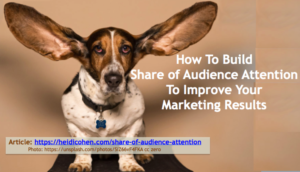 Share of Audience Attention or SOAA