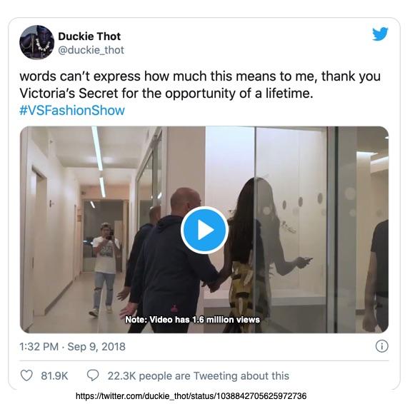Duckie Thot Tweet