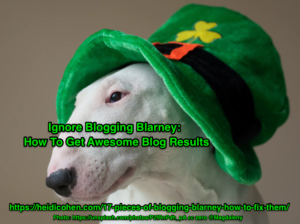 Ignore Blogging Blarney