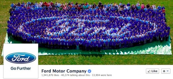 Ford Motor Company Facebook Cover Image - Branded Content