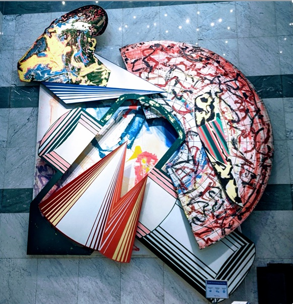 Jump Into My Sack by Frank Stella