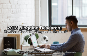 2018 Blogging Research