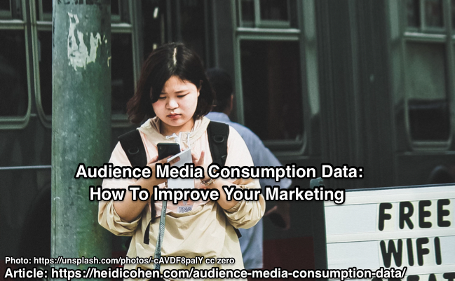 Audience Media Consumption Data