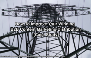 B2B Content Marketing Distribution Case Study