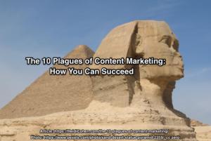 content marketing plagues