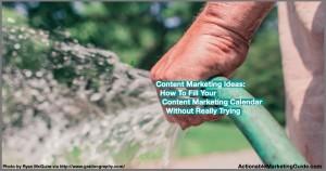 Stream of content marketing ideas