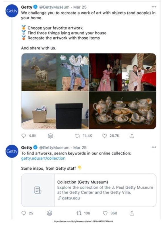 GettyMuseum Twitter Challenge