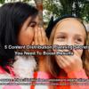 Content distribution planning secrets