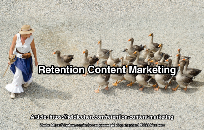 Retention Content Marketing