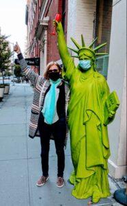 Heidi and Ms Liberty
