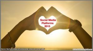 Social Media Platforms 2015
