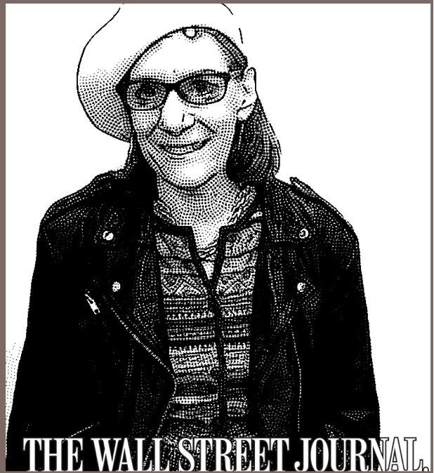 Heidi Cohen-WSJ Stipple Portrait from CMWorld