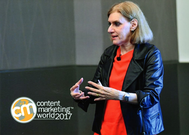 Heidi Cohen at CMWorld 2017