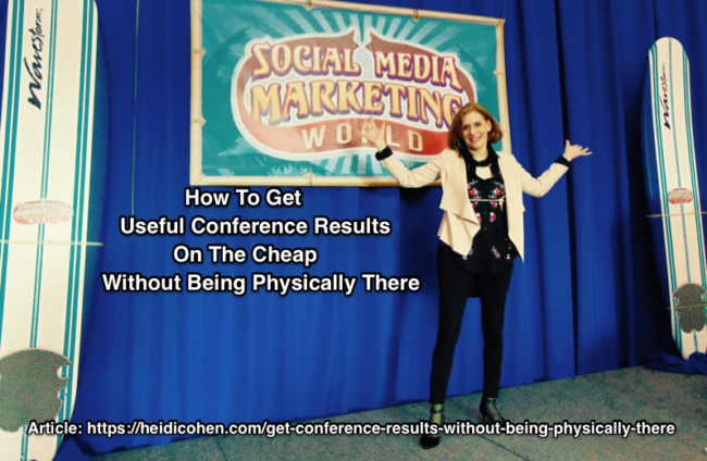 Conference blog posts