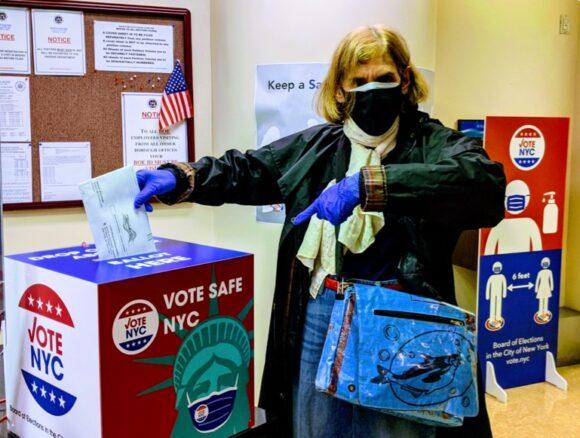 Heidi Cohen Deposits Her 2020 Vote