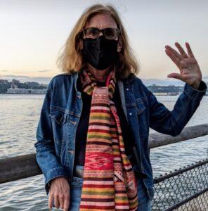 Heidi Cohen in Riverside Park