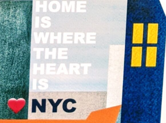 NYC is where the heart is