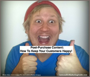 Post purchase content