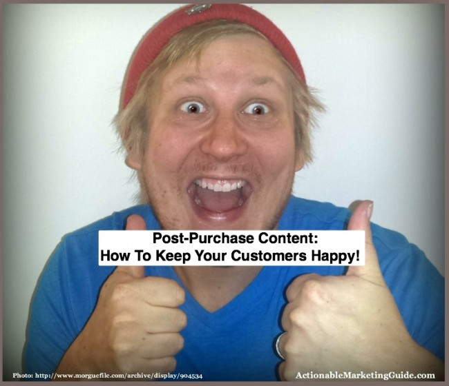 How to make your customers happy