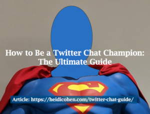 twitter chat guide