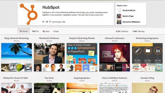 B2B business on Pinterest