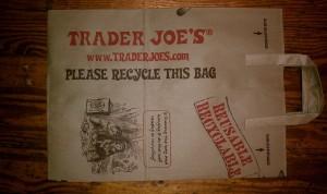 Trader Joe's Paper Shopping Bag