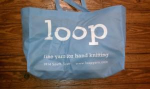 Loop Yarn Reusable Tote
