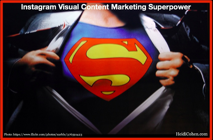 Instagram Visual COntent Marketing Superpower