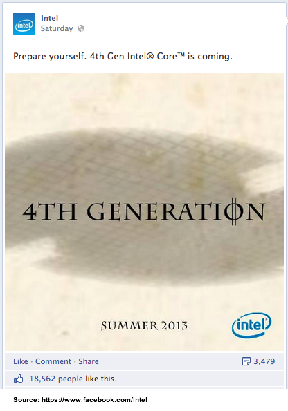 Intel Treats Product Rollout like Movie Trailer-1