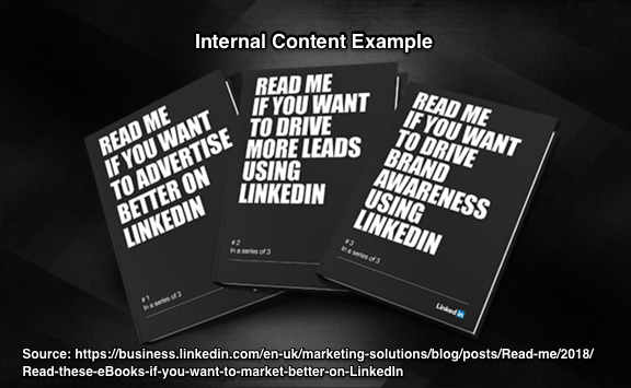 Annual Content Planning- Internal Content Example