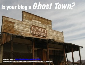 12 Tactics to Prevent Your Blog from Being a Ghost Town