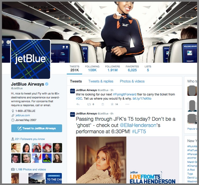 JetBlue Airways - Twitter