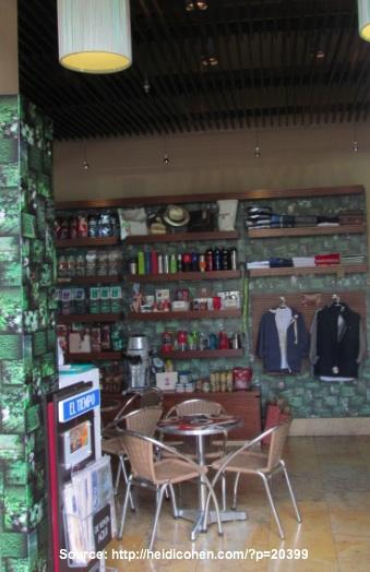 Juan Valdez Shop and Cafe - Bogota Colombia -Heidi Cohen