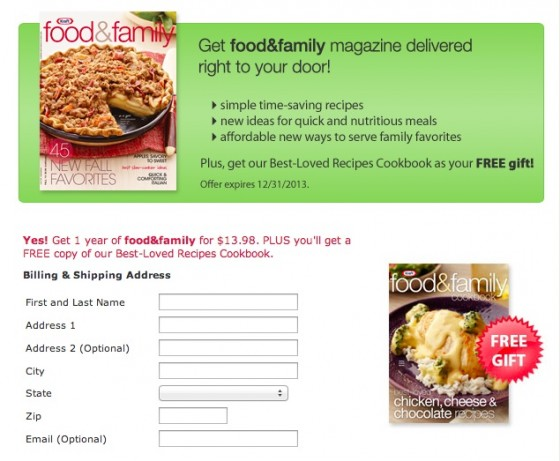 KRAFT Food & Family Subscription-1