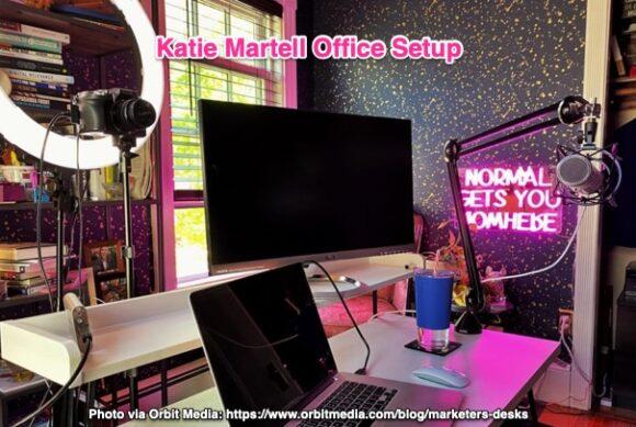 Katie Martell Office Setup