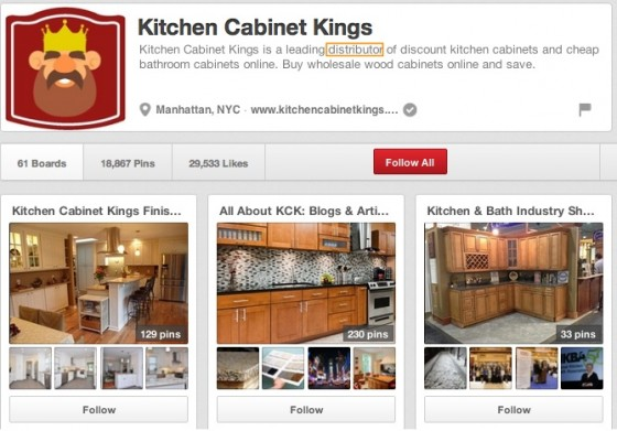 Kitchen Cabinet Kings (cabinetkings) on Pinterest-1
