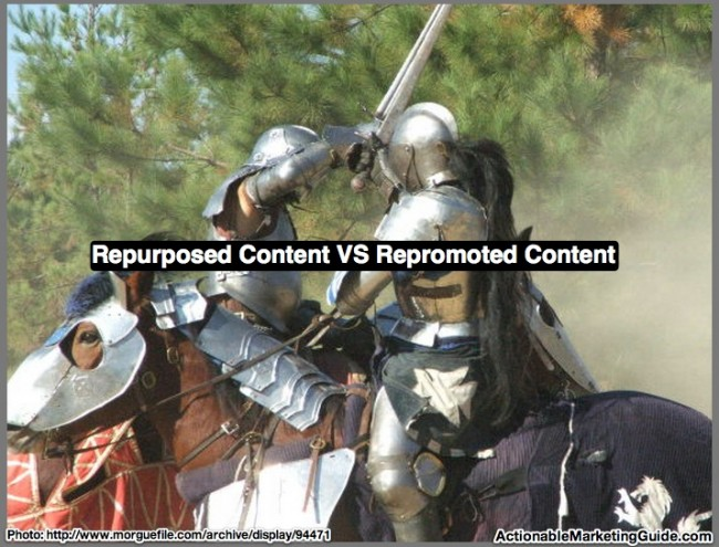 Repurposed Content VS Repromoted Content