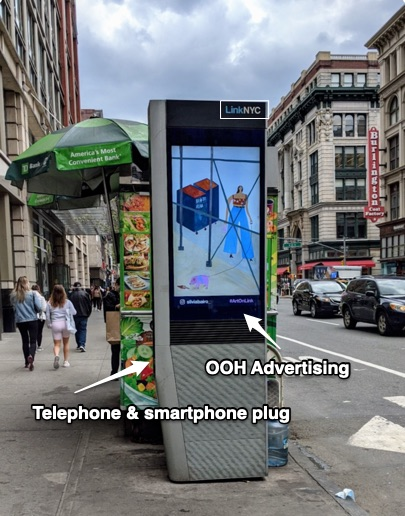NYC Out of Home Advertising via LINKNYC