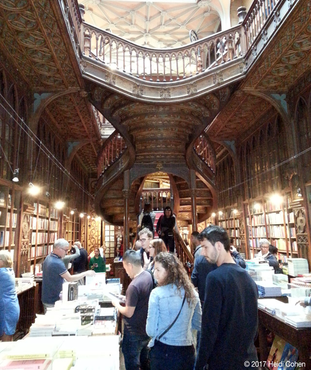 Lello Bookshop, Porto, Portugal