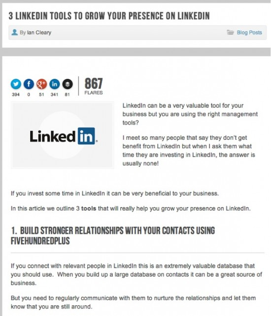 LinkedIn Tools - 3 Tools to help you grow your presence on LinkedIn