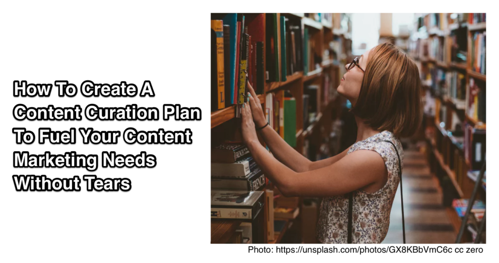 Content Curation Plan