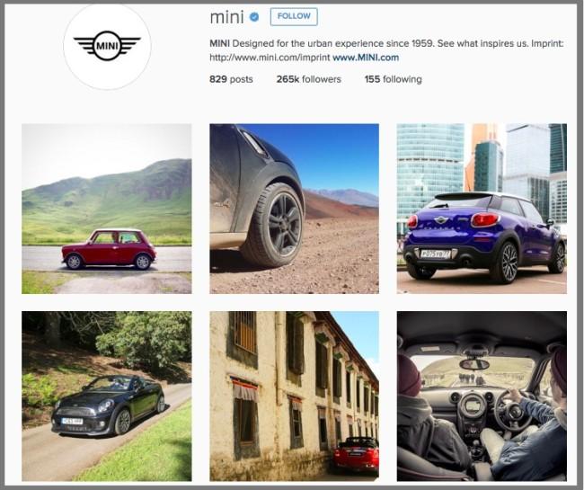 B2C social media-instagram