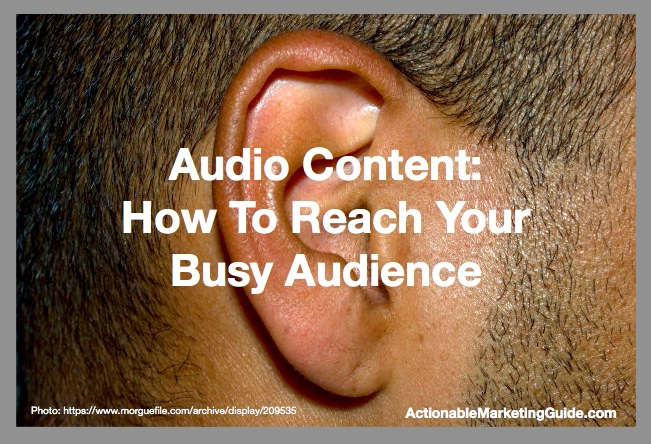 Man Ear-Audio Content