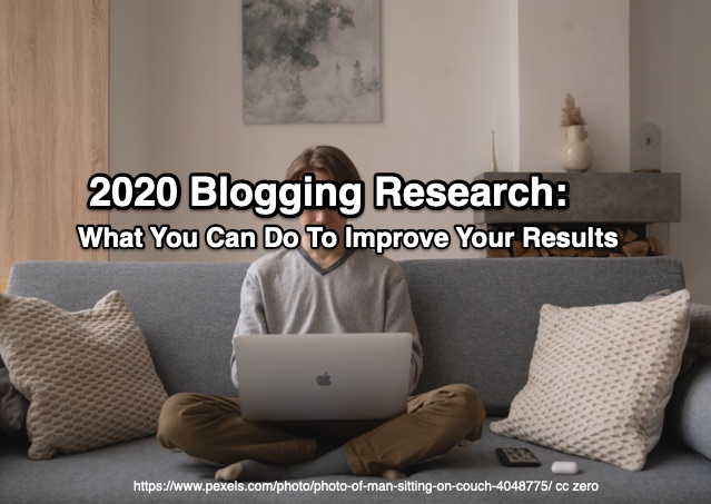 2020 Blogging Research